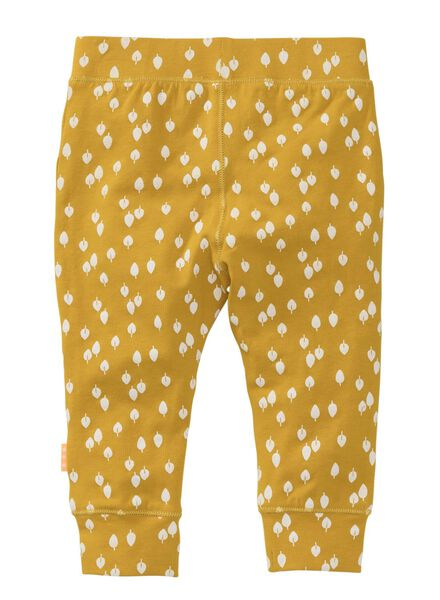 newborn trousers yellow ochre yellow ochre - 1000007657 - hema