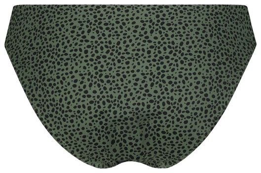 Damen-Bikinislip, Animal graugrün graugrün - 1000022854 - HEMA