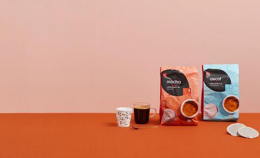 46 dosettes de café décaféiné - 17150005 - HEMA