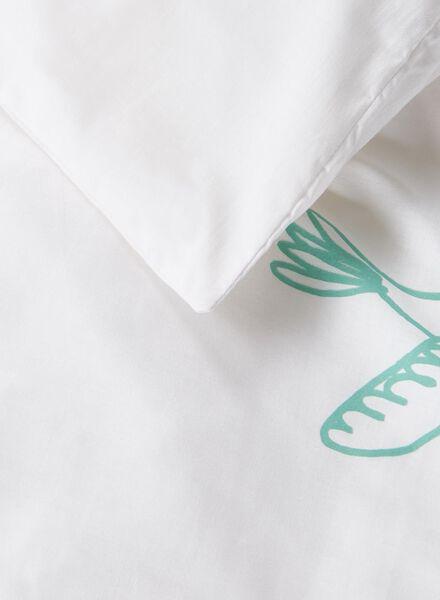 parure de couette soft coton 200 x 200 cm blanc 200 x 200 - 5700033 - HEMA