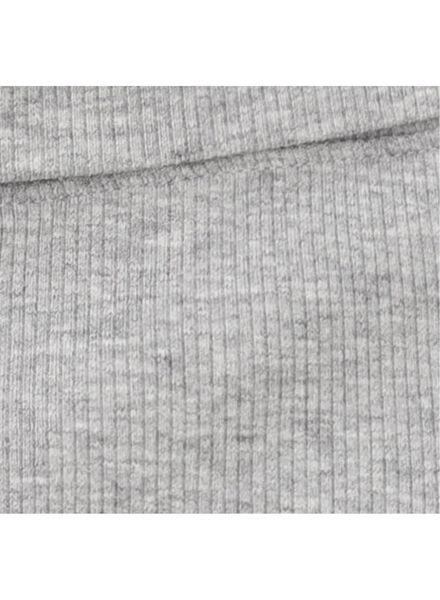 pantalon bambou stretch pour nouveau-né-prématuré gris chiné gris chiné - 1000013403 - HEMA