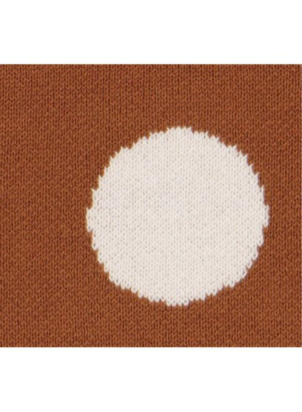 pull bébé en maille marron marron - 1000015538 - HEMA