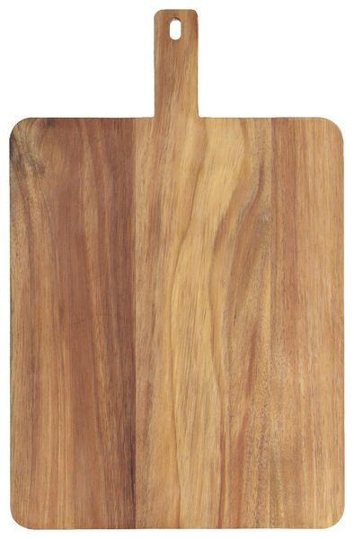 Servierbrett, 48 x 31 x 2 cm, Holz - 80810330 - HEMA