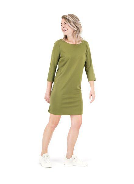 women's dress olive olive - 1000014825 - hema