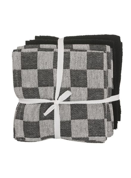4-pack tea and kitchen towels - 5450021 - hema
