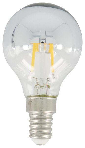 LED-Kopfspiegellampe, 21 W, 200 lm, Kugel, silbern - 20020037 - HEMA