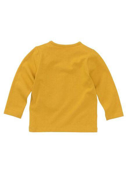 Baby-T-Shirt – Bambus gelb gelb - 1000011966 - HEMA