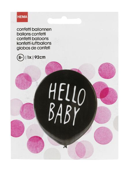 gender revealing balloon girl - 14230006 - hema