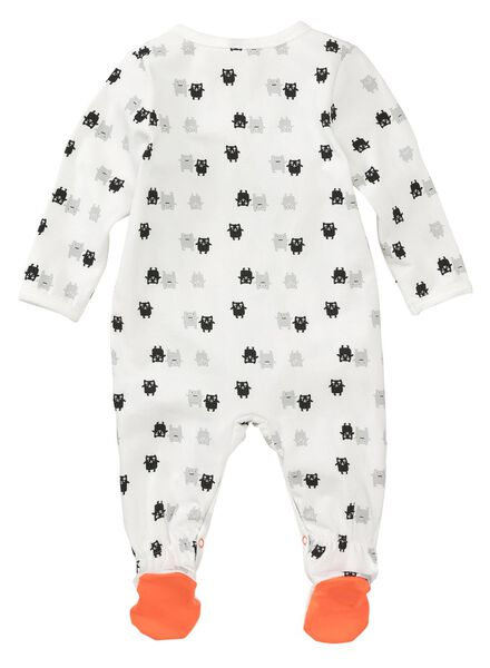 newborn jumpsuit orange orange - 1000006732 - hema