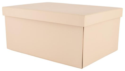 storage box - cardboard - pink - 39890053 - hema