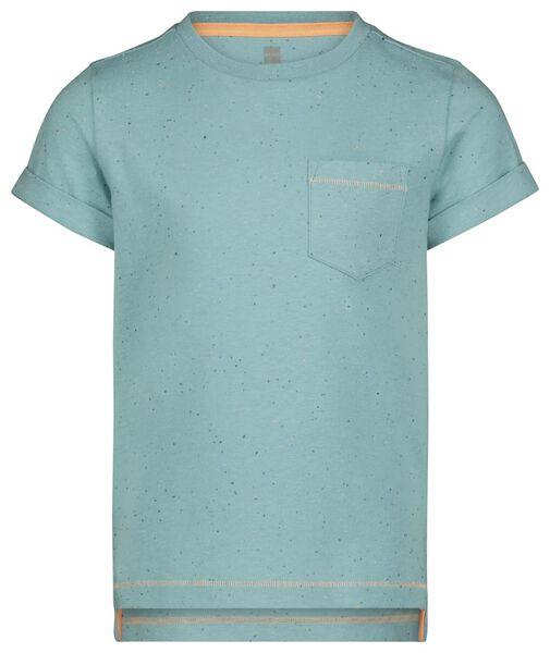 Kinder-T-Shirt meerblau meerblau - 1000024050 - HEMA