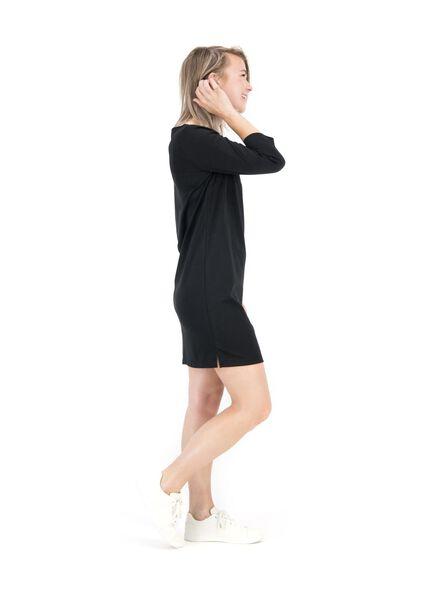 women's dress black black - 1000014824 - hema