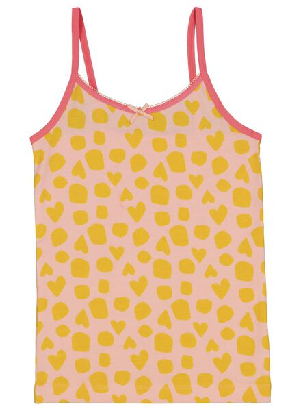 2-pack children's vests with bamboo pink pink - 1000014980 - hema
