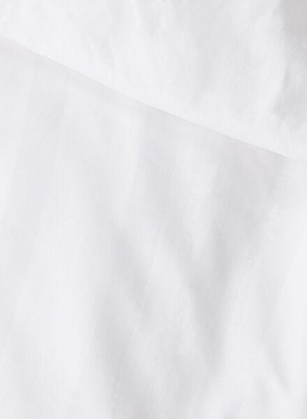 duvet cover - hotel cotton satin white white - 1000014105 - hema