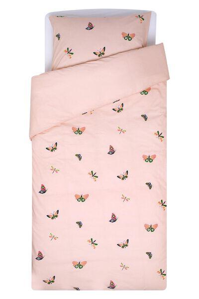 children's duvet cover - soft cotton - 140x200 - butterfly - 5720125 - hema