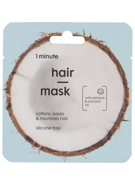 masque cheveux huile de coco - 11057134 - HEMA