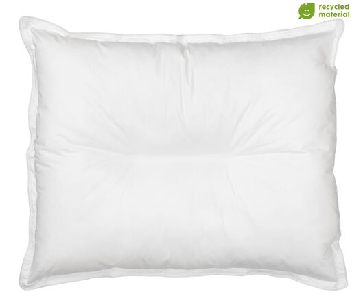 pillow with stabilisation partition - rPET 60x70 - medium - 5500094 - hema