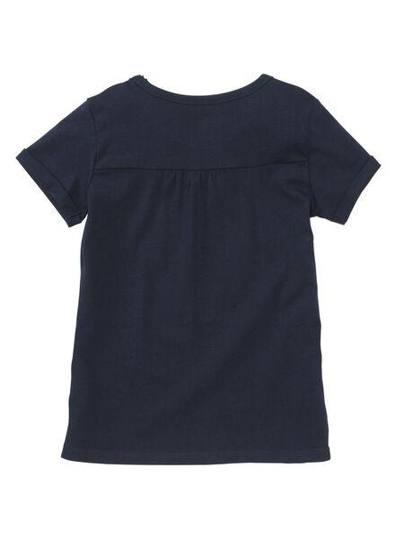 children's T-shirt dark blue dark blue - 1000005856 - hema