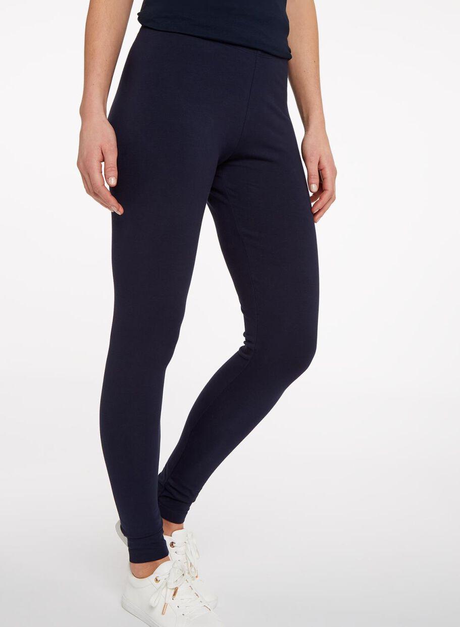 ... legging femme - coton biologique bleu foncé bleu foncé - 1000004664 -  HEMA 8f291a396d4
