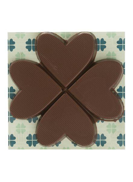 chocolat au lait trèfle à quatre feuilles - 10370151 - HEMA