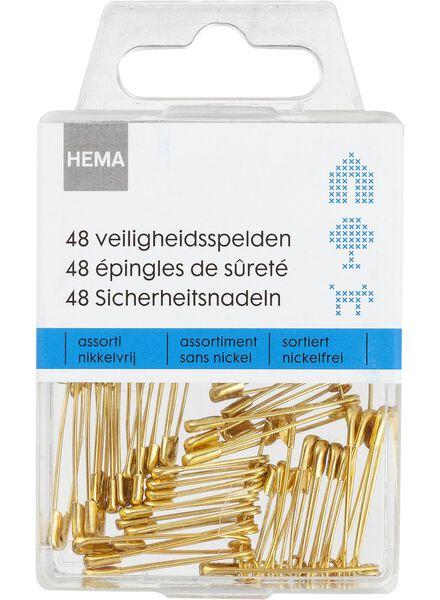 48-pack safety pins various - 1472077 - hema