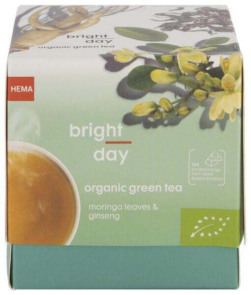 groene thee biologisch bright day - 15 stuks - 17190022 - HEMA