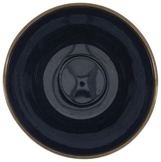 bowl - 14 cm - Porto - reactive glaze - dark blue - 9602219 - hema