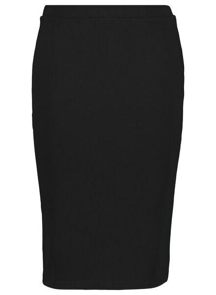 women's skirt black black - 1000014773 - hema
