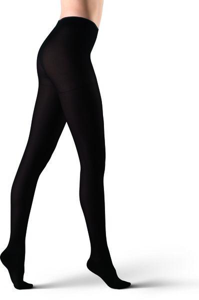 panty stimulerend 60denier zwart zwart - 1000017106 - HEMA