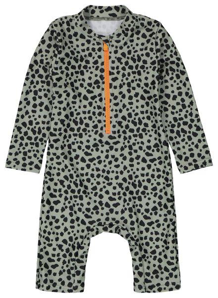 Babybademode - HEMA Baby Badeanzug Mit LSF 50 Grün - Onlineshop HEMA