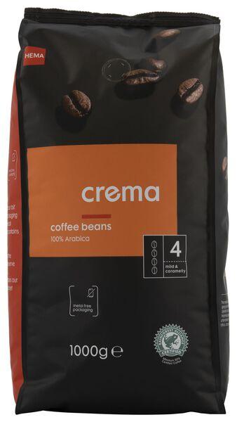 grains de café crema - 1000 g - 17160002 - HEMA