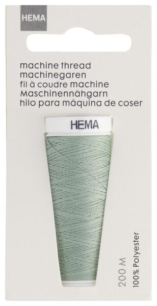 machine/hand sewing thread 200 metres light green machine thread light green - 1422032 - hema