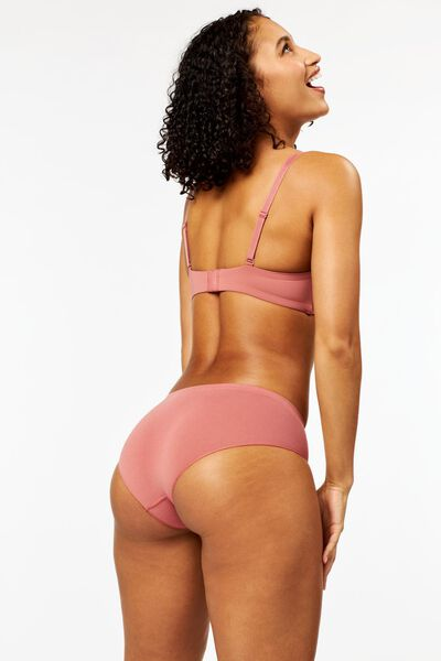 Damen-Hipster, nahtlos, Mikrofaser rosa rosa - 1000024118 - HEMA