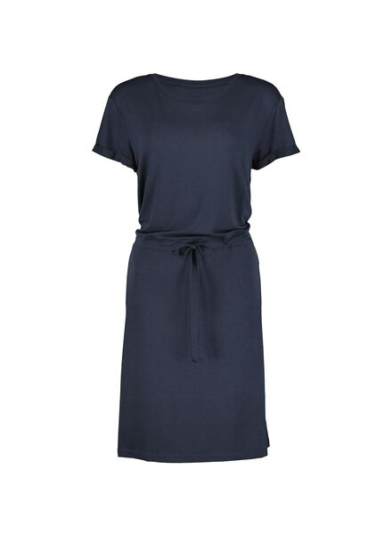 women's dress dark blue dark blue - 1000013841 - hema