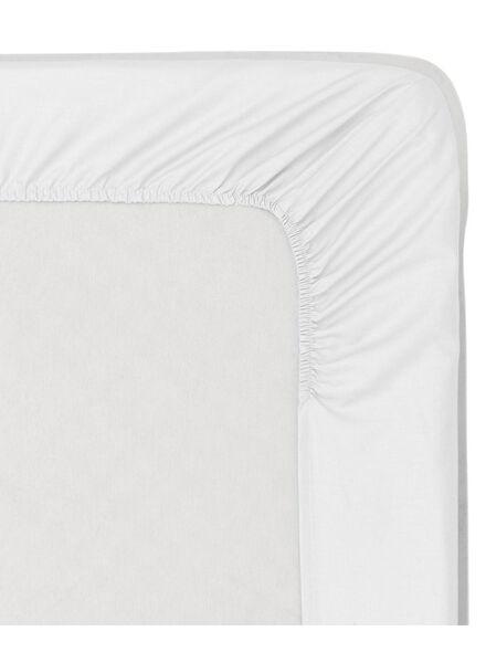 drap-housse coton doux - 160 x 200 cm - blanc blanc 160 x 200 - 5140022 - HEMA