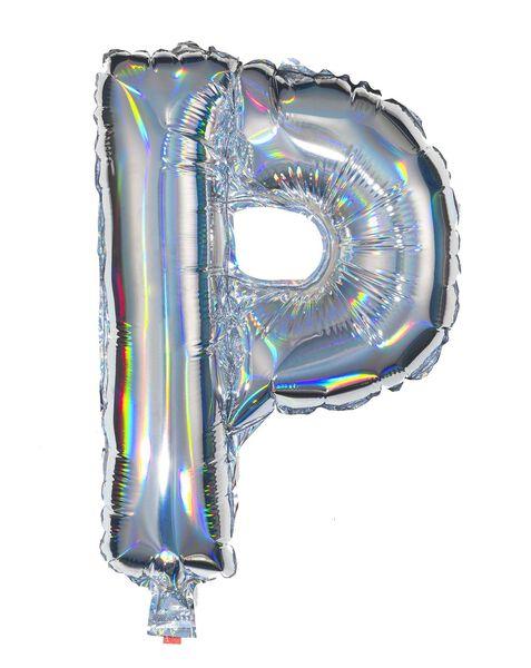 ballon alu lettre P - argenté argenté P - 14200218 - HEMA