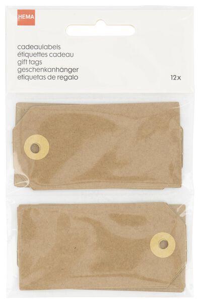 12er-Pack Geschenkanhänger - 14700325 - HEMA