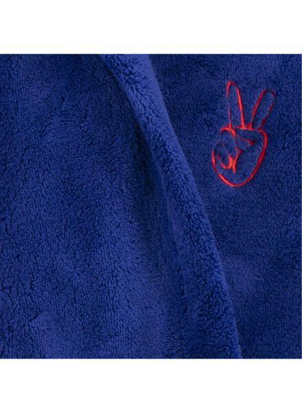 peignoir enfant bleu foncé bleu foncé - 1000014377 - HEMA