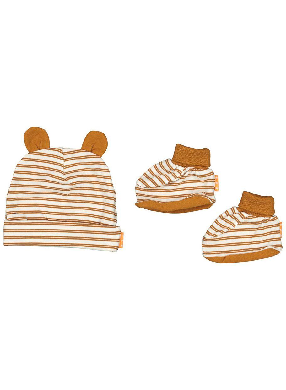 offre usa pas cher vente clair et distinctif ensemble bonnet et chaussons nouveau-né - bambou