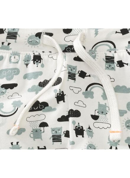 newborn trousers off-white off-white - 1000005657 - hema