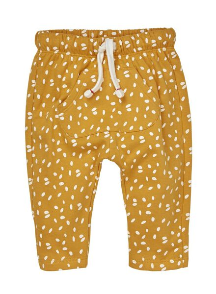Baby-Sweathose gelb - 1000010806 - HEMA