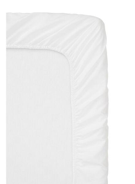 drap-housse boxspring - coton doux - 80x200 cm - blanc - 5100140 - HEMA