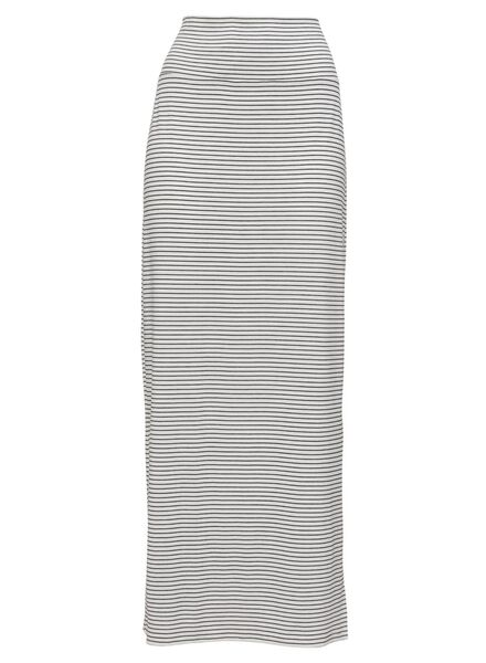 women's skirt white/black white/black - 1000007646 - hema