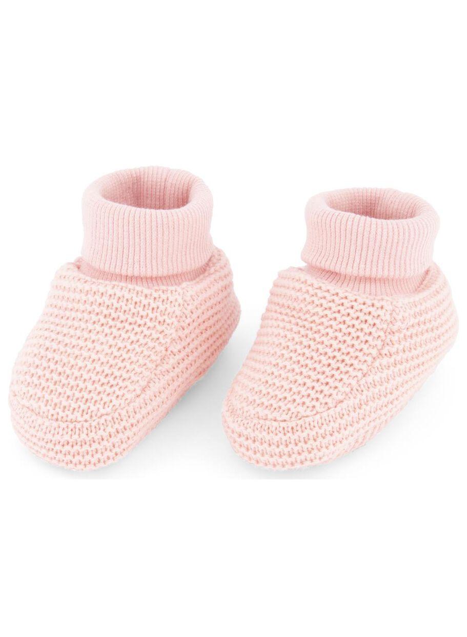marque populaire produits de qualité Vente chaussons nouveau-né rose - HEMA