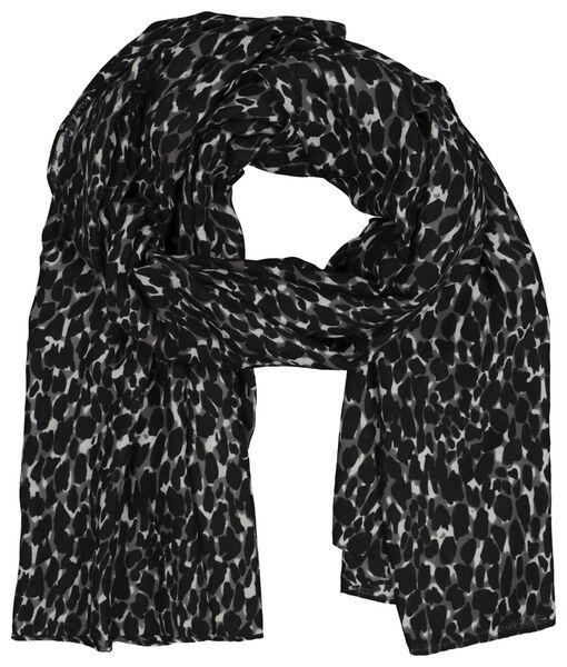 écharpe femme 200x80 taches - 1790022 - HEMA