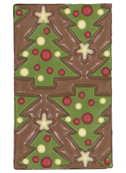chocolate bar Christmas tree - 10030012 - hema