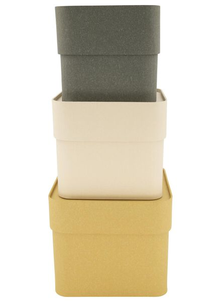 3 small boxes with a lid - 39892100 - hema