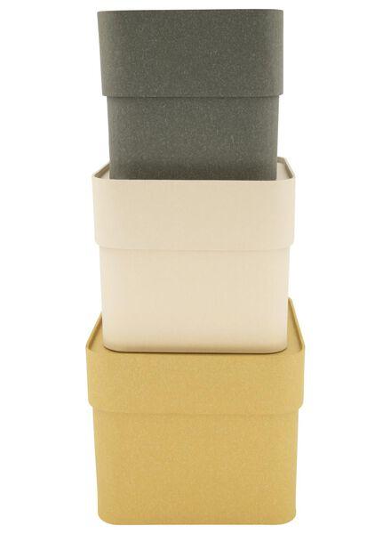 3 boîtes avec couvercle - 39892100 - HEMA