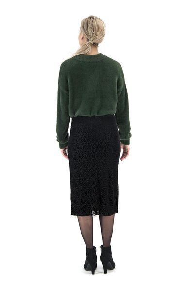 women's sweater dark green dark green - 1000017416 - hema