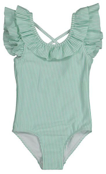 children's swimsuit light green light green - 1000022262 - hema